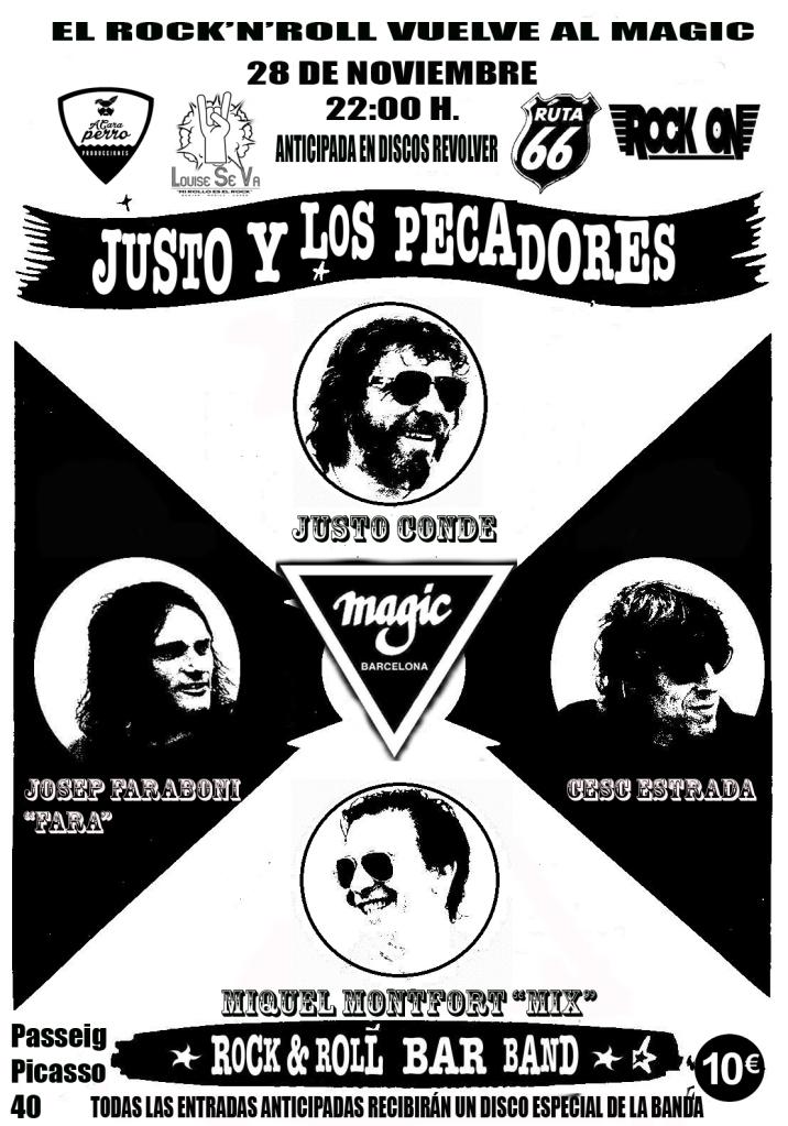 POSTER DEF JUSTO Y LOS PECADORES